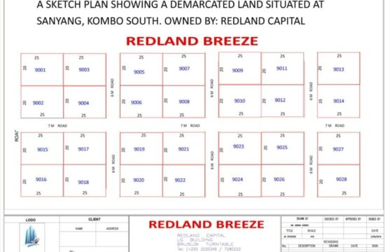 Redland Breeze About 1, 700M From The Sea Sanyang – Kombo South West Coast